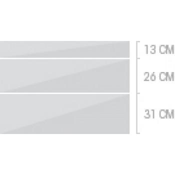 100x70 cm, 3 lådor