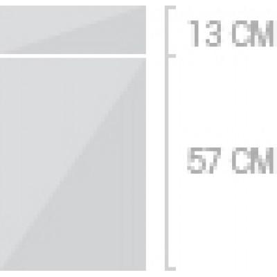 40x70 cm, 1 låda + 1  lucka
