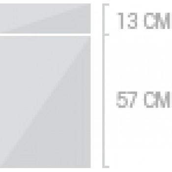 40x70 cm, 2 lådor