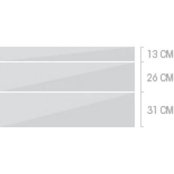 120x70 cm, 3 lådor