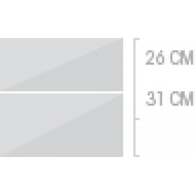 60x57 cm, 2 lådor