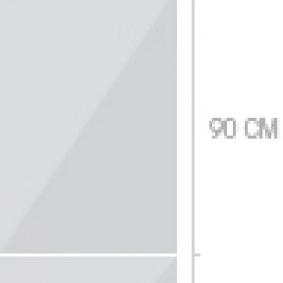60x233 cm, 3 luckor