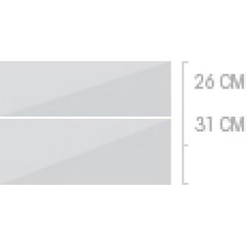 80x57 cm, 2 lådor