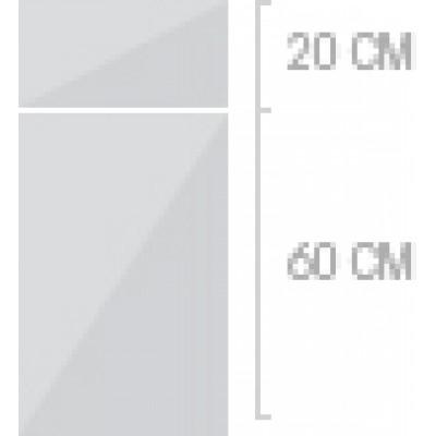 40x80 cm, 1 låda + 1  lucka