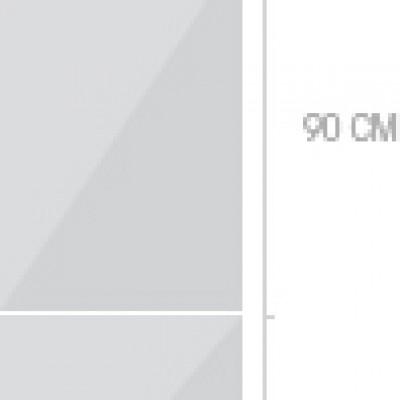 60x211 cm, 3 luckor