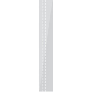 35x244 cm, täcksida för spottar