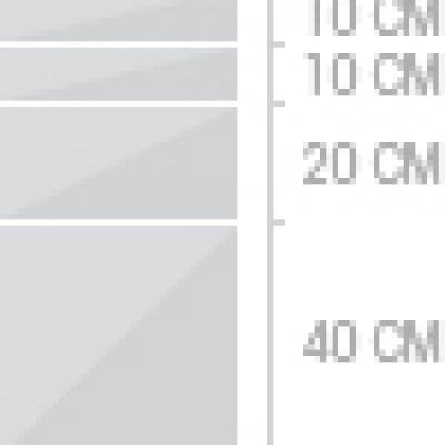 40x80 cm  4lador