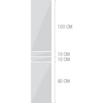 40x200 cm,  lådor