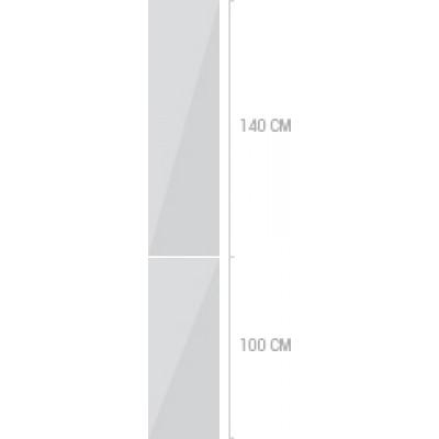 40x240 cm,  luckor
