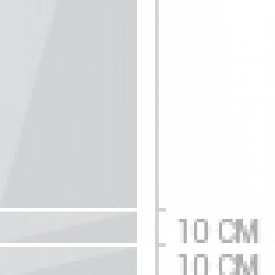 40x240 cm,  lådor