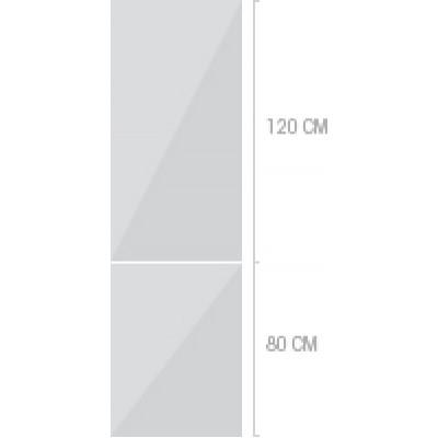 60x200 cm,  luckor