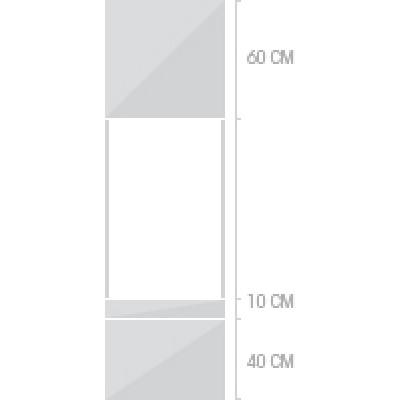 60x220 cm,  lådor