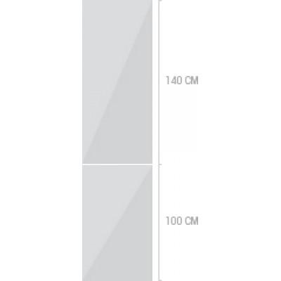 60x240 cm,  luckor