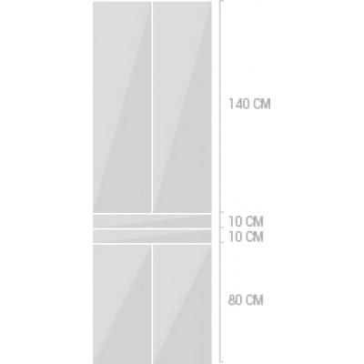 80x240 cm,  lådor